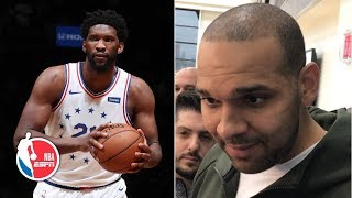 I put Joel Embiid on notice - Jared Dudley | 2019 NBA Playoffs