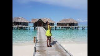 Underwater aquarium restaurant in Maldives, Ithaa , Conrad Hotel