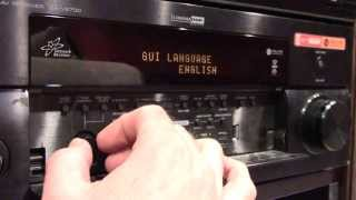 YAMAHA AV Receiver Setting Speaker Impedance