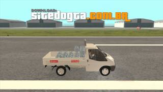 Ford Transit Pickup 2008 GTA San Andreas