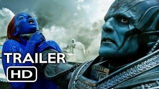 X-Men: Apocalypse Official Trailer #2 (2016) Jennifer Lawrence, Michael Fassbender Movie HD