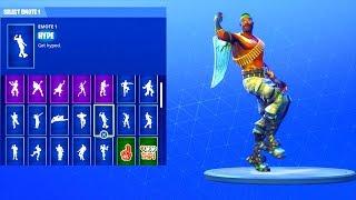 (NEW) BANDOLIER SKIN! WITH 20+ DANCE EMOTES! Fortnite Battle Royale