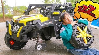 Kids play Drive Car go to School! Kids Repair Cars for Baby Song Children