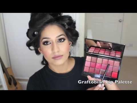 My Engagement Makeup Tutorial | Pakistani, Indian, South Indian Wedding Make-up | Bridal Makeup video