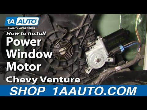 How To Install Replace Power Window Motor Chevy Venture Pontiac Montana 97-05 - 1AAuto.com