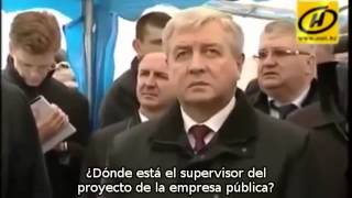 Lukashenko - Mano dura al capitalista