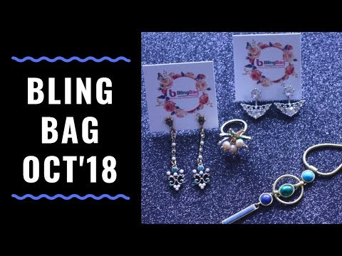 Bling Bag October 2018 | 10% Discount Code | Unboxing & Review
