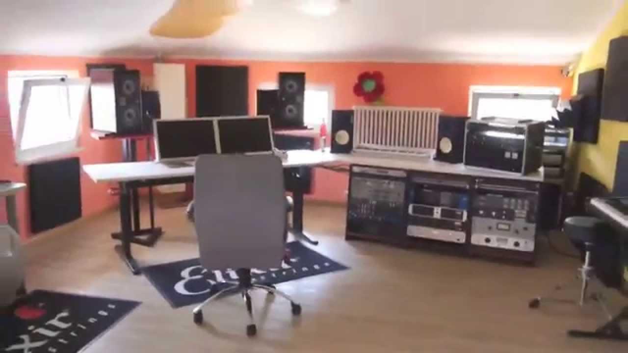 Finalmente sistemazione organizzazione e cablaggio studio di registrazione massimo varini - Studio di registrazione casalingo ...