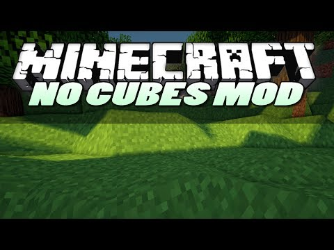 Minecraft Mods   NO CUBES MOD (SMOOTH TERRAIN)   Mod Showcase