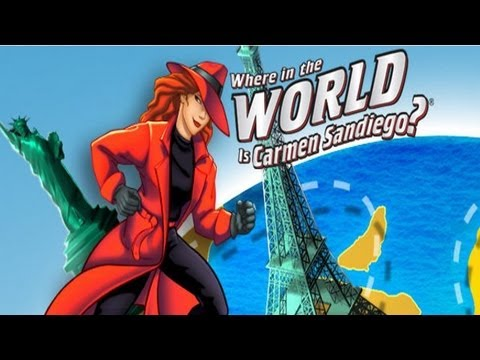Where in the world is carmen sandiego movie trailer youtube