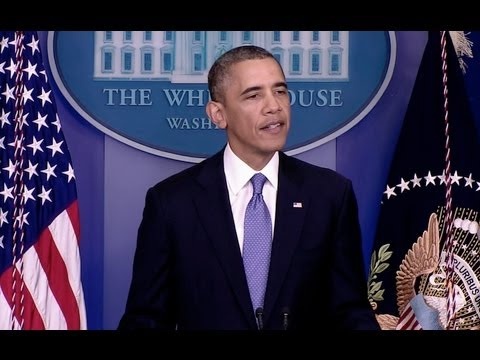 President Obama Makes a Statement