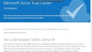 Informationssicherheit in der Azure Cloud