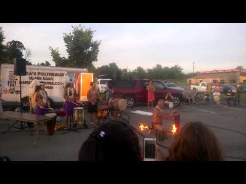 Fire Dancing at Pittsburgh Technical Institute 2014