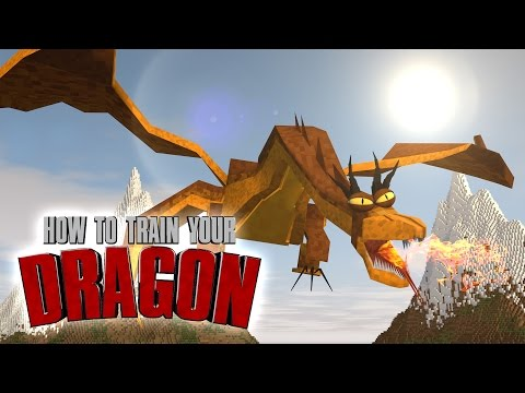 Minecraft | How To Train Your Dragon Ep 8! we Are Dragon Tamers video