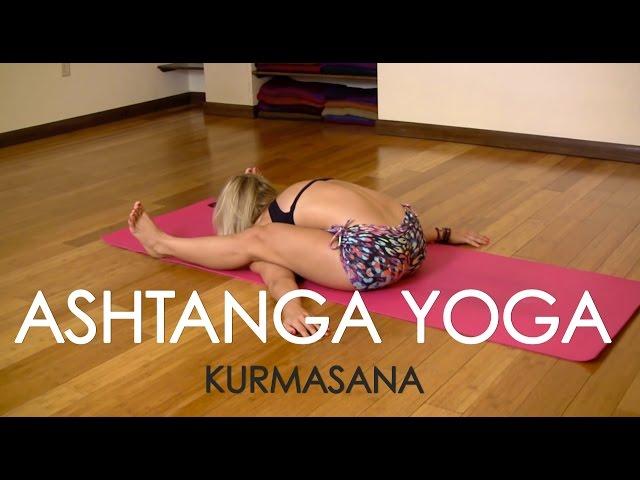 Kurmasana in Ashtanga Yoga with Kino