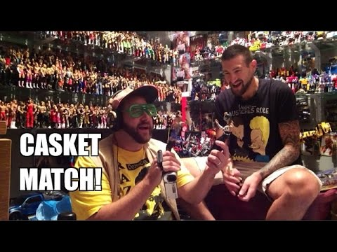Grim's Toy Show Ep 979: How to make GTS WRESTLING! WWE Mattel Elites Figure Collection pics