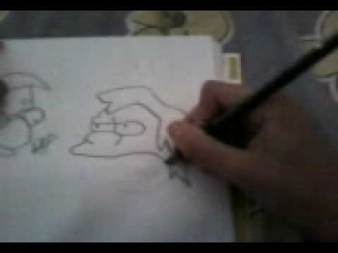 3st-how to draw a nelson muntz Video
