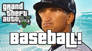GTA V: BASEBALL BOSSES! (GTA 5 Next Gen Funny Moments)