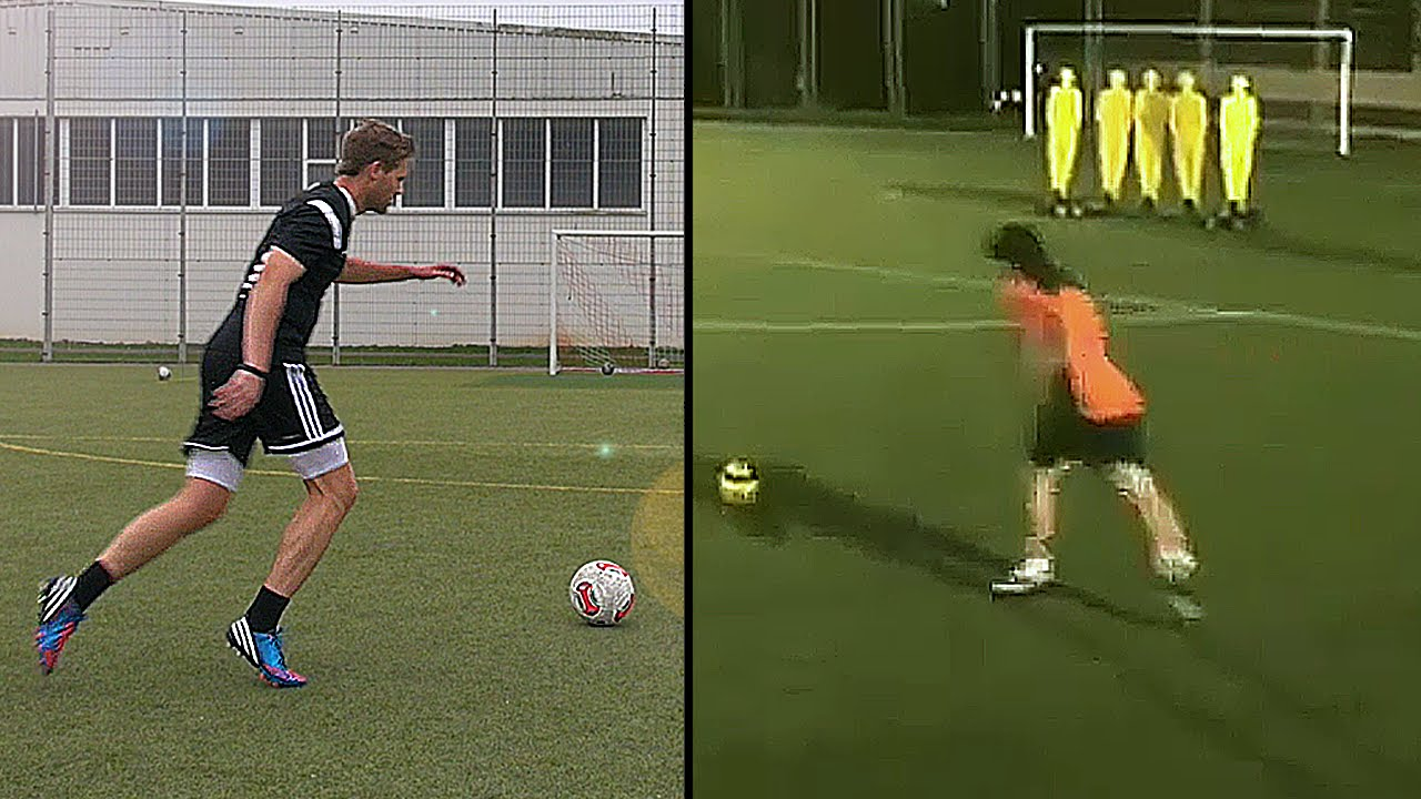 Kick Technique Football Messi Free Kick Technique