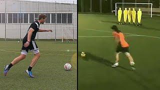 How to Shot Like Messi - Free Kick Tutorial - freekickerz