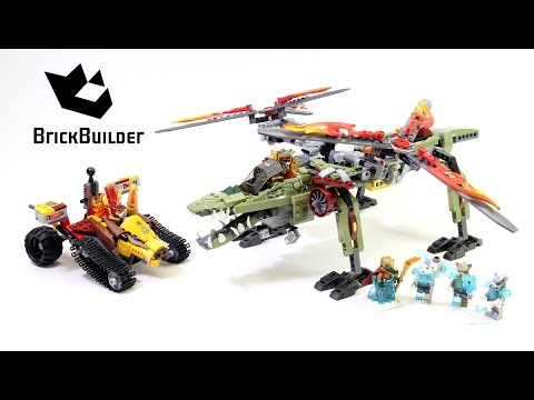 Lego Chima 70227 King Crominus' Rescue - Lego Speed build