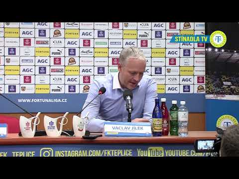 Tisková konferece hostujícího týmu po utkání Teplice - Olomouc (11.11.2018)
