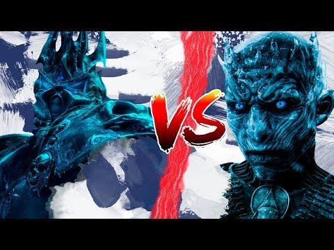 КТО СИЛЬНЕЕ? КОРОЛЬ ЛИЧ vs КОРОЛЬ НОЧИ   World of Warcraft   Game of Thrones   DAMIANoNE
