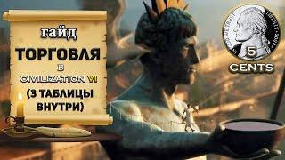 Гайд - Торговля в Civilization 6 | VI (3 таблицы всех бонусов внутри)