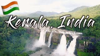 BEAUTIFUL Waterfall & CRAZY Monkeys 🇮🇳 Athirappilly Waterfalls | Kerala, India | Travel Vlog Ep. 38