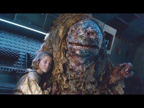 女孩和怪物在地下生活一年,不僅沒有生命危險,還馴服怪物做保镖