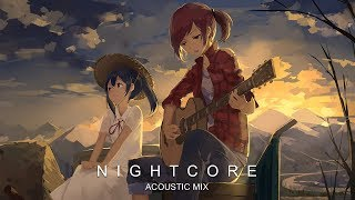 Best Nightcore Acoustic Mix ♪ 1 Hour Special ♪ Most Beautiful & Emotional Music