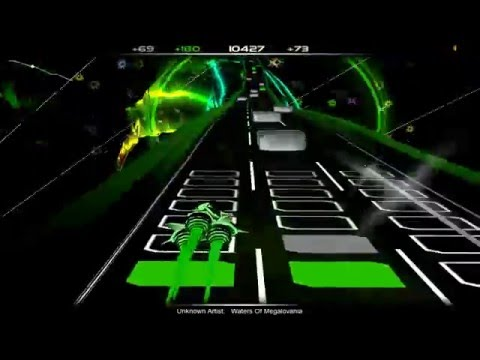 Audiosurf:Waters Of Megalovania