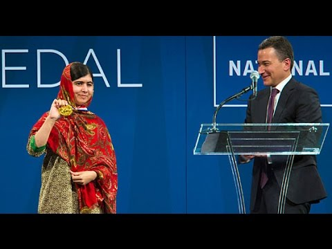 Malala Yousafzai's acceptance speech for the 2014 Liberty Medal.