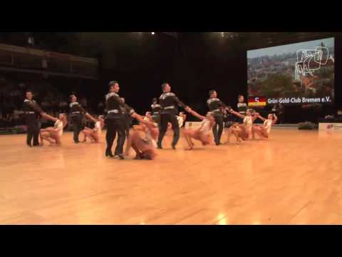 Grün-Gold-Club Bremen, GER | 2013 European Latin Formation R3
