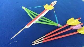 Comment faire une arbalète et des flèches   utilisant du papier
