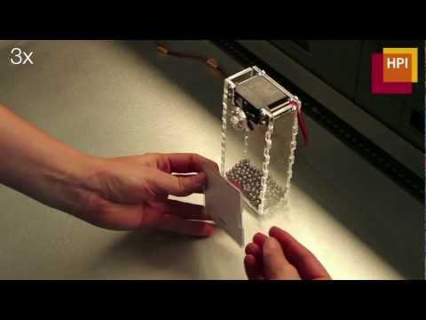 laserorgami schneidet und faltet 3d objekte. Black Bedroom Furniture Sets. Home Design Ideas