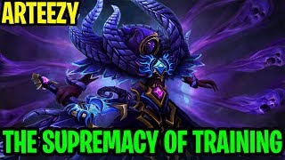 The Supremacy Of Training - Arteezy Spectre 7.17 - Dota 2