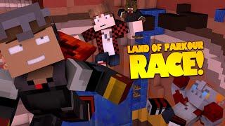 Minecraft Parkour | Land of Parkour RACE | Bajan Canadian, JeromeASF, Noochm (Minecraft Parkour Map)