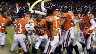 Chicago Bears Highlights 2018 Weeks 1-11