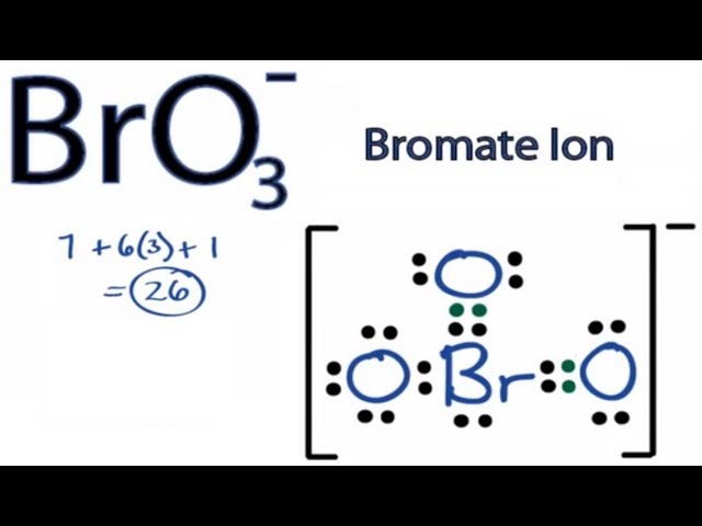 Lewis Structures Rules Bro3 Lewis Structure How to