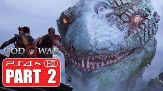 GOD OF WAR Walkthrough | PART 2 - No Commentary | 1080p 60fps PS4 PRO