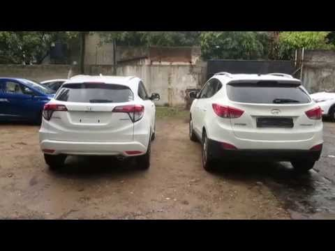 Honda Vezel vs Hyundai Tucson