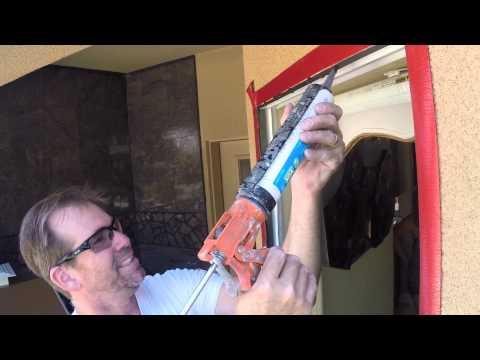 Window Replacement Installation Contractor | Stucco Install with Vinyl Cutback