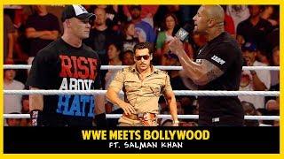 WWE Funny Dubbing | WWE Meets Bollywood | Salman Khan, The Rock, John Cena