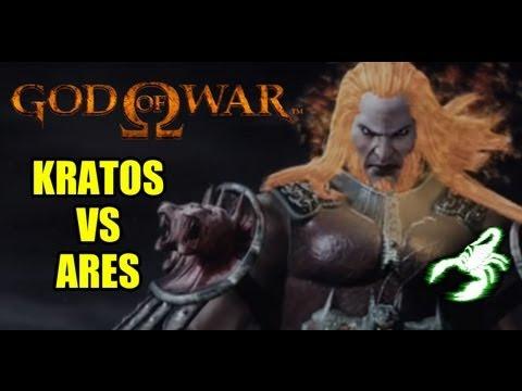 GOD OF WAR - BOSS BATTLE: KRATOS VS ARES