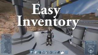 Space Engineers - Easy Inventory Demo