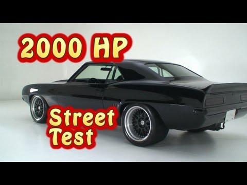 2000 HP Supercar Attacks Malibu!  Nelson Racing Engines.  NRE.