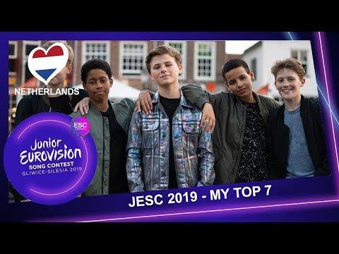 Junior Eurovision 2019 - My Top 7 (+