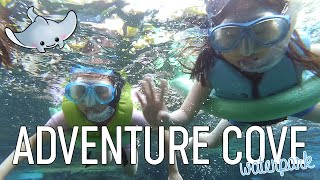 Visiting ADVENTURE COVE WATERPARK | Sentosa Island | Singapore