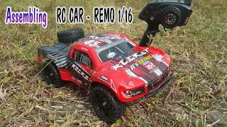 Assembling REMO 1/16 RC Truck Car | Short Course RC Car